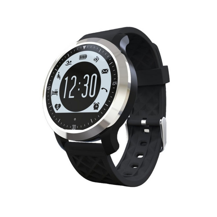 ФОТО Symrun Smart Watches For iPhone Android Heart Rate Monitor Watch Sport Swimming F69 Pulsometer Waterproof Bluetooth Smartwatch