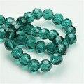 De Calidad superior 4 MM 100 unids/lote Moda Sueltas Gumball Beads Fútbol Acrílico Rivoli Cristal Redondo Grueso Perlas Sólidas para Collares!!
