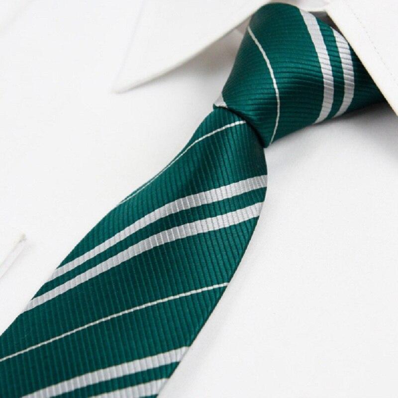 Extra Long Green and Gold Collegiate Striped Men/'s Tie Necktie School Ties