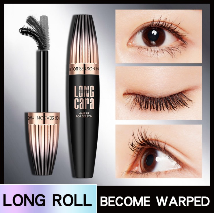 Makeup Cosmetic Length Extension Long Curling Eyelash Black Mascara Lengthener Maquiagem Rimel