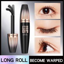 цена Makeup Cosmetic Length Extension Long Curling Eyelash Black Mascara Eyelash Lengthener Makeup Maquiagem Rimel Mascara