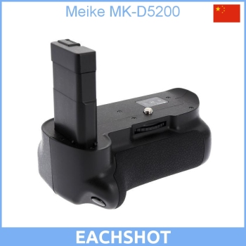 100% New Original High Quality MeiKe MK-D5200 Battery Grip Pack for Nikon DSLR Camera D5200