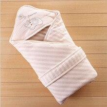 Детское одеяло бренд утолщаются младенческой пеленать конверт коляска обёрточная бумага для постельное белье для новорожденных малышей s постельные