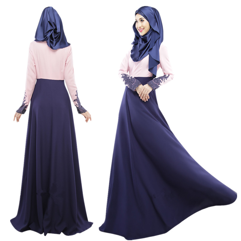 A001 Fashion Linen New Style Muslim font b Abaya b font one pcs font b abaya