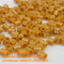 Belenes Navidad 5mm Perler Beads ~ Tropical Orange Id:51 Hama Fused Educational Toys Guaranteed 100% Quality + Free Shipping(China)