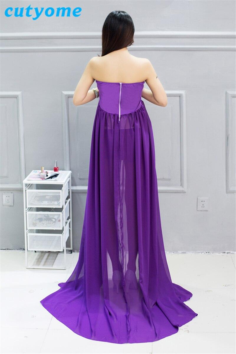 2018 elegante vestidos de maternidad para foto dispara moda Fancy ...