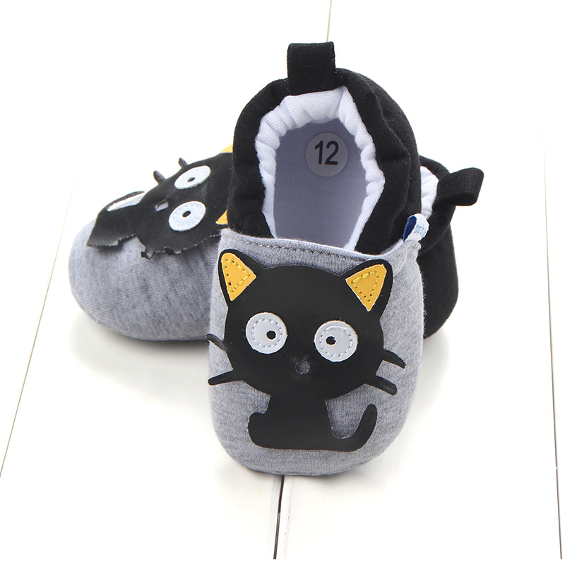 First Walkers Baby Shoes Cotton Anti-slip Booties Baby Girl Boy Shoes Animal Cartoon Newborn Slippers Footwear Booties Kids Gifts (31)