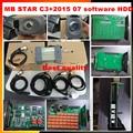 MB STAR C3!! -- Multi language OBD2 scanner MB C3+v2015 07 software HDD professional for Mercedes OBD2 diagnostic tool