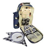 Portable Camping Picnic Bag Outdoor Travel Set Camping Picnic Multifunction Camping Cookware