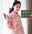 2016 Partido Cosplay Cotume quente Quimono Japonês Yukata Mulheres Japonesas Tradicionais Kimonos Roupão Feminino Japonês Roupas Antigas