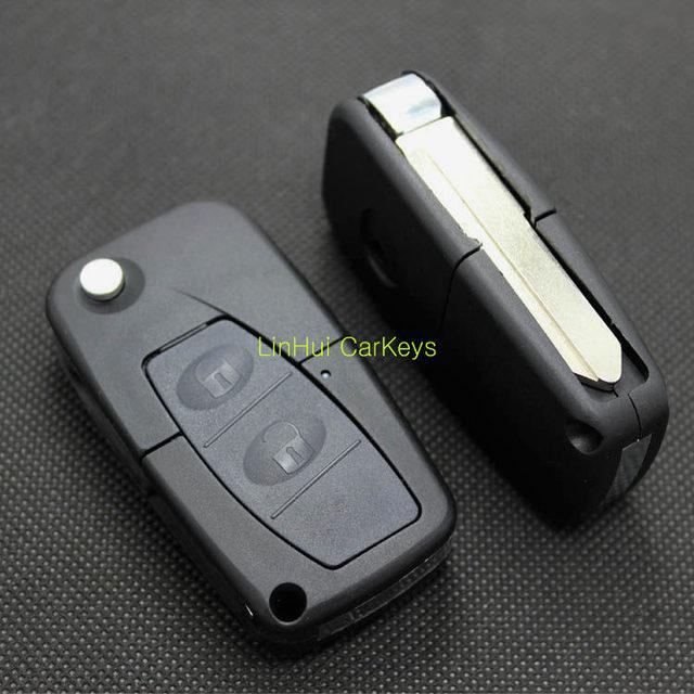 PINECONE porte-clés 2 boutons   Pour MAZDA 323 famille, clé à distance modifiée, coque ABS 1 PC