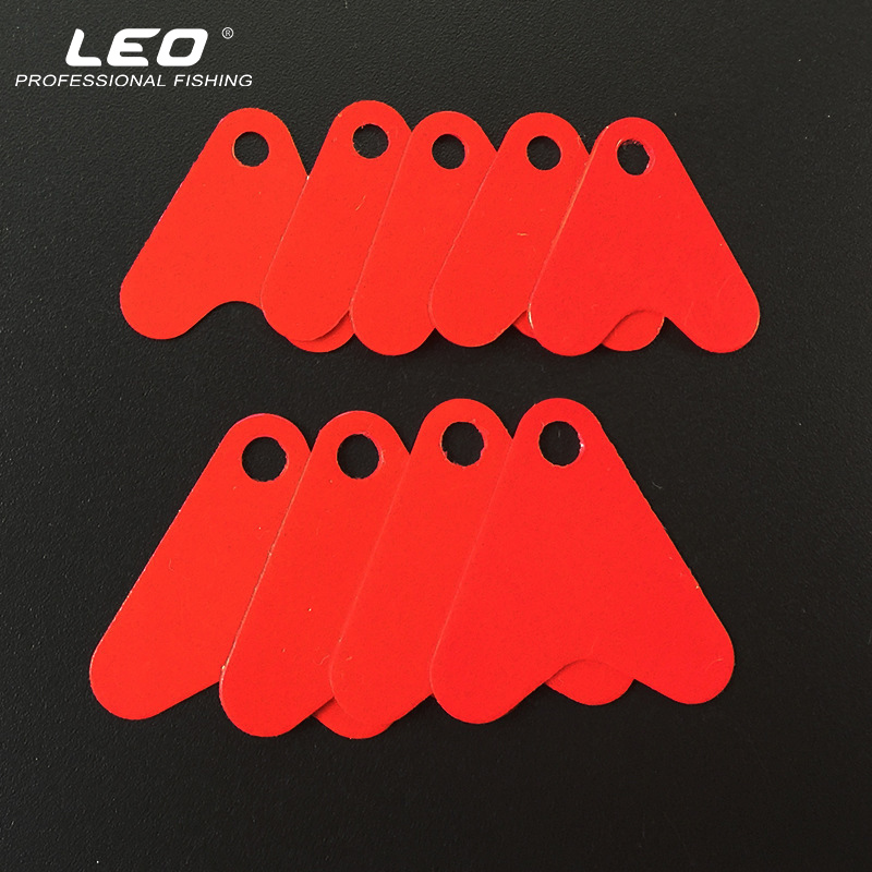 100 Pieces 21mm 16mm Red Heart Plastic Fish Tails for Spoon Fishing Lures DIY Fishing Accessories carli mpx40 100 21