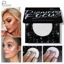 Pudaier Makeup Diamond Highlight Palette Illuminator Contouring Face Base Brighten Shimmer Bronzer Highlighter Glow Cosmetics недорого