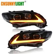 CNSUNNYLIGHT For Toyota Corolla 2011/2012/2013 Car Headlight