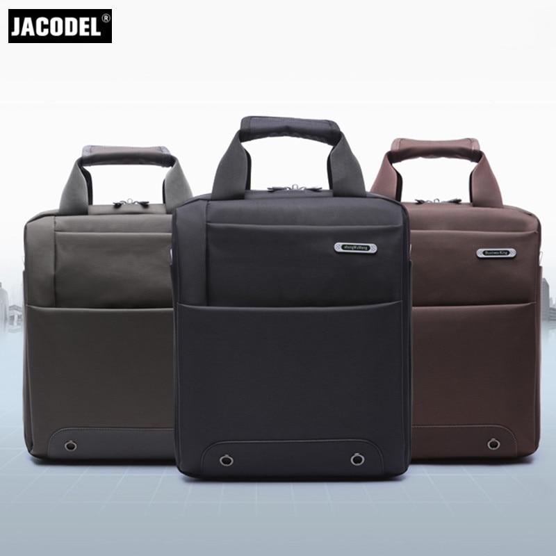 Jacodel Business 12 13 Inch Laptop Bag for Men Hangbag Vertical Square bag for Laptop Computer