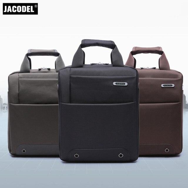 9a2024abe4 Jacodel Entreprise 12 13 pouce Ordinateur Portable Sac pour Hommes Sac À  Main Carré Vertical sac