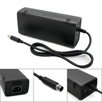 US Plug AC Adapter Charging Charger Power Supply Cord Cable for Xbox 360 Xbox360 E Brick Game Console TLR Shop