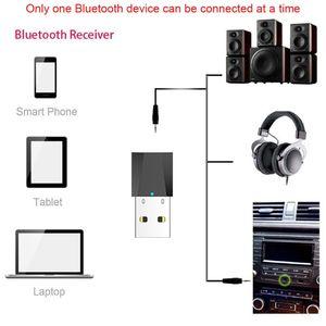 Image 3 - USB אלחוטי Bluetooth 3.5mm אודיו סטריאו מקלט לרכב AUX רמקול אוזניות