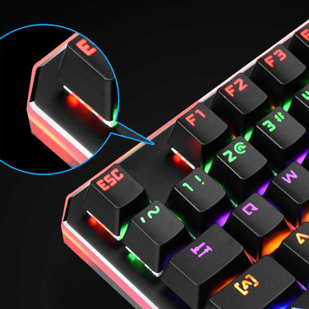 35 Keys Wired Gaming Keyboard LED Backlight One Hand Keypad for Dota OW PUBG Game QJY99