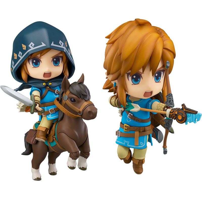 Zelda Breath of the Wild Link Legend of Zelda 733 733-<font><b>DX</b></font> (Deluxe Version) Nendoroid Collectible Model <font><b>Toys</b></font> Gift Doll image