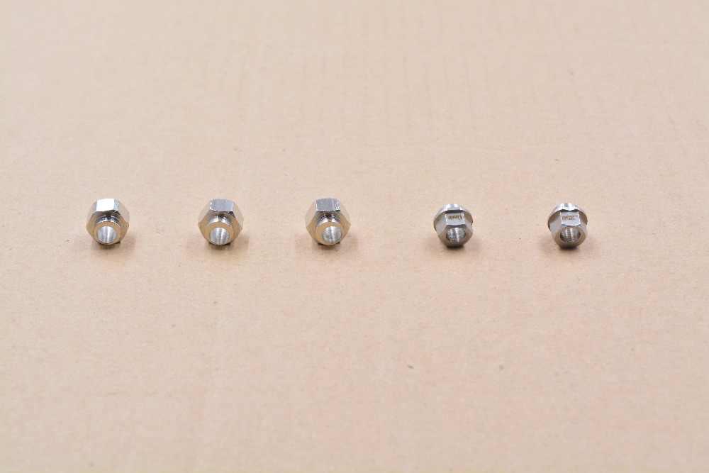 Impressora 3D openbuilds excêntrico coluna isolamento perfil de alumínio porca hexagonal furo 6 5mm altura mm 6.35mm slot V
