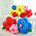 1 PC Subiu Travesseiro almofadas Do Sofá 40 cm Recheado Almofada Flor Artificial Flores Casal Criativo Presentes Dia Dos Namorados Presente