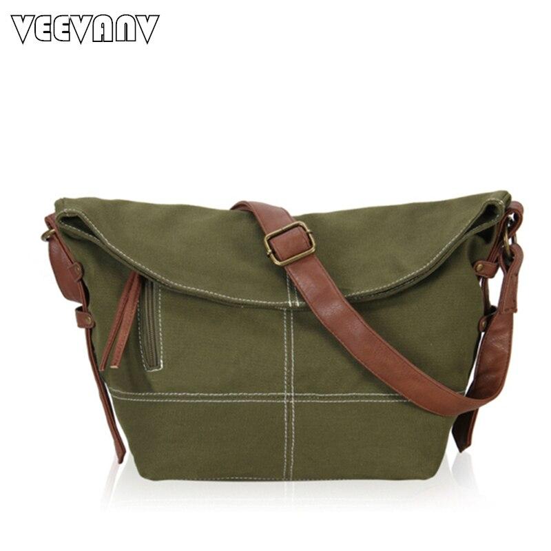 2018 Fashion Postman Bags Vintage Men Messenger Bags Shoulder Briefcase High Quality Canvas Travel School Crossbody Bags Women