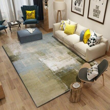 PAYSOTA Modern Art Abstraction Carpet Living Room Bedroom Home Mats