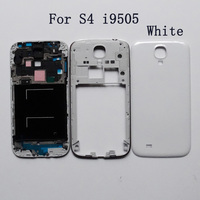 I 9500 9505 Housing Front Plate Frame Holder Bezel Back Cover Middle Frame For Samsung Galaxy