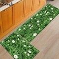 Zeegle Willkommen Fußmatte Eingang Boden Matte Bad Teppich Tür Matten Saugfähigen Küche Matte Gras Gedruckt Korridor Teppich-in Teppich aus Heim und Garten bei