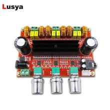 new M139 DC12V - DC24V 50w + 50W+100W 2.1 three Channel digital Subwoofer TPA3116D2 amp power Amplifier Board D3-005