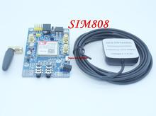 SIM808 instead of SIM908 module GSM GPRS GPS Development Board IPX SMA with GPS Antenna for Arduino Raspberry Pi Free Shipping