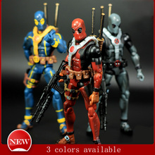 3 Style 6 inch 17 cm PVC The Avengers Super Hero Justice league X-MAN Deadpool Action Figure toys Collection Model Toys