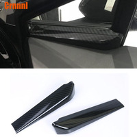 Carbon fiber style A column of decorative covers Car Accessories For Toyota CHR C HR 2017 2018