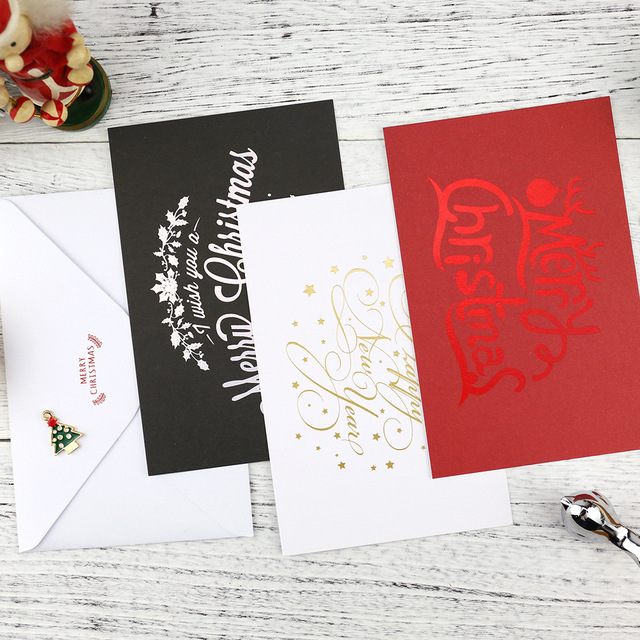 Christmas greeting card envelope package christmas english each set christmas greeting card envelope package christmas english each set contains three card merry christmas letter m4hsunfo