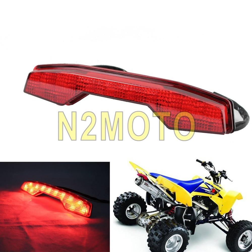 Motorcycle ATV Quadsport LED Taillights Rear Tail Brake Light For Suzuki LTR450 LTR 450 LT-R450