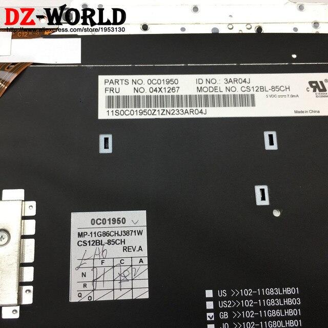 Nouveau/Orig CH clavier rétro-éclairé suisse pour Thinkpad X230 X230i X230T rétro-éclairage Teclado 04X1267 04W3164 04X1380 04Y0666 04Y0555