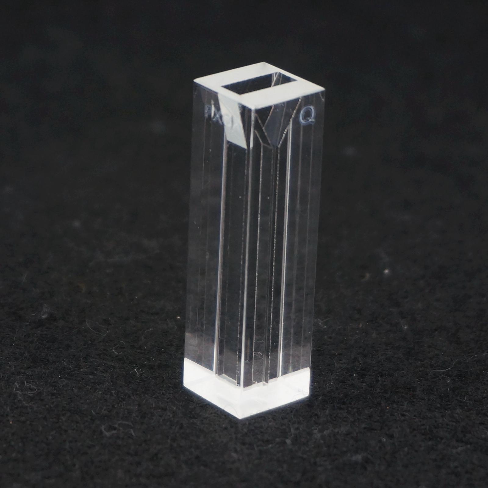 140ul 1X4mm Path Micro Fluorescence Quartz Cuvette Cell