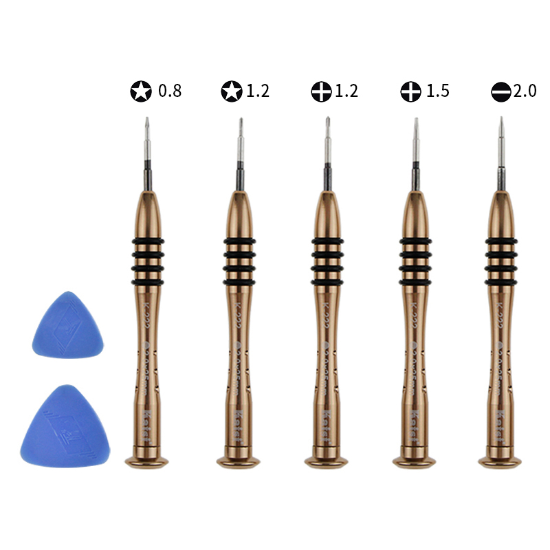 Kaisi 5222 7 IN 1 Plastic Opening Pick + Precision Screwdriver Set For iPhone iPad Tablet PC Cell Phone Repair Kit golf wood 5 head cover