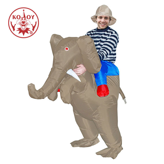 Adults Inflatable ELEPHANT Costumes Animal Themed Halloween Costumes Unusual Menu0027s Mardi Gras Costumes  sc 1 st  AliExpress.com & Adults Inflatable ELEPHANT Costumes Animal Themed Halloween Costumes ...