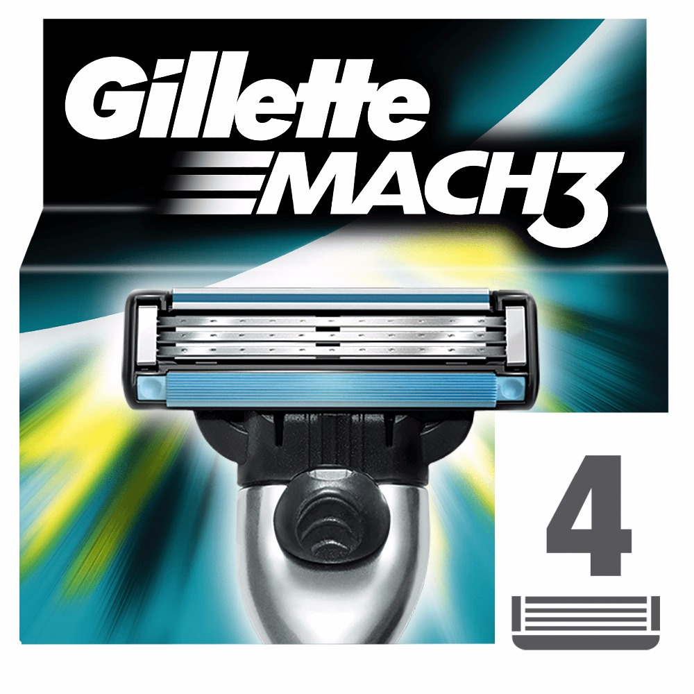Replaceable Razor Blades for Men Gillette Mach 3 Blade shaving 4 pcs Cassettes Shaving  mak3 shaving cartridge mach3 1 pcs drum cleaning blade for ricoh mpc2500 mpc3000 printer copier spare parts