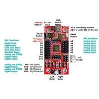 S4A Gráfica de Programação Arduino Dual purpose Placa Placa Servo Placa de Controle Do Motor da Placa de Controle Do Bluetooth|Peças p ar condicionado|Eletrodomésticos -
