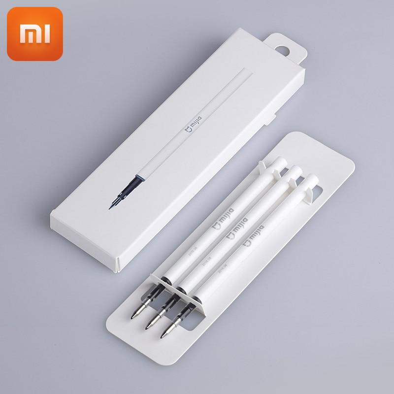 Оригинальные японские чернила Xiaomi Mijia, 3 шт., 9,5 мм, долговечные Сменные стержни Premec, гладкие швейцарские Сменные стержни для ручки Xiaomi