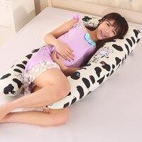 U образные подушки для беременных, Удобная Подушка для беременных и кормящих женщин, боковая подушка 130*70 см