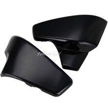 Черный Батарея боковую крышку для Honda VT 600 Shadow VLX Делюкс КОНЬ 400 600 400vls