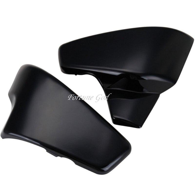 Noir batterie Side Cover pour Honda Shadow VT 600 VLX Deluxe cheval 400 600 400VLS