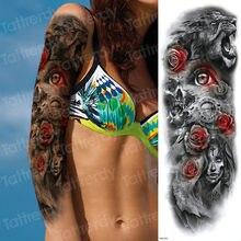 Popularne Czaszka Tatuaż Rękaw Wzory Dla Mężczyzn Kupuj