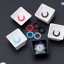 Колпачок для ключа, уплотнительное кольцо, звуковые гасители для механических клавиш клавиатуры, 120 шт./лот, резиновый уплотнительный переключатель, буфер