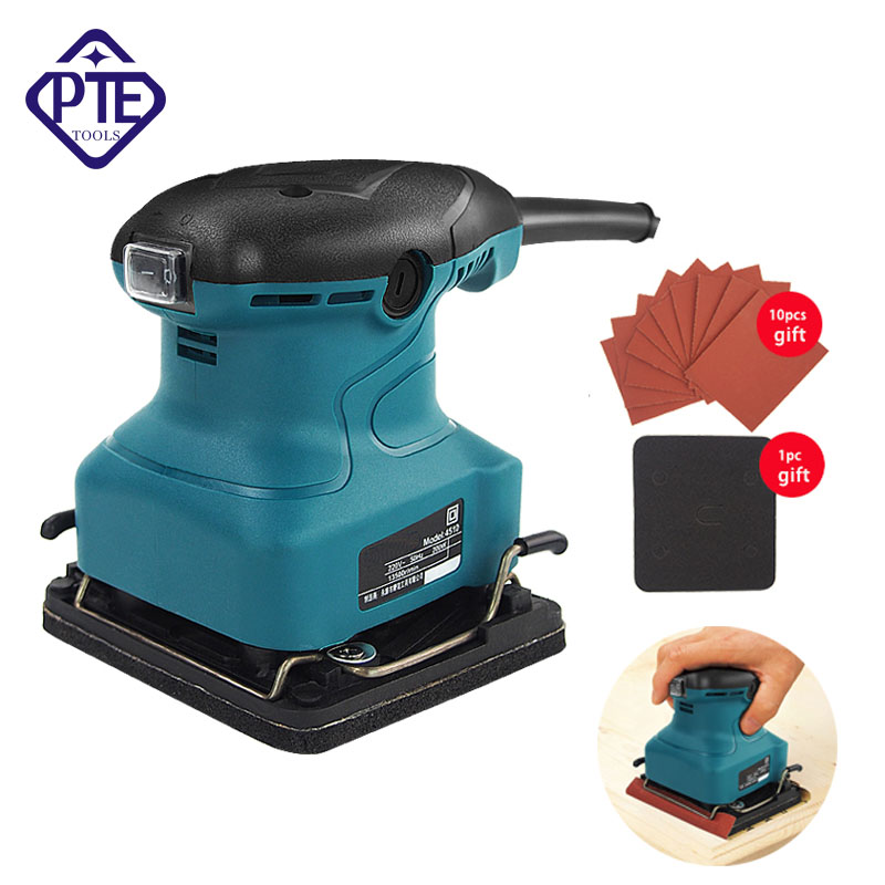 220V Electric Sandpaper Polishing Machine For Furniture Putty Wood Floor Polisher