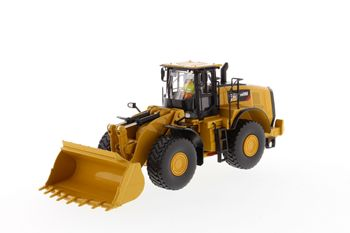 Collectible Diecast Toy Model Gift DM 1:50 Scale Caterpillar CAT 980M Wheel Loader with Rock Bucket Engineering Machinery 85543